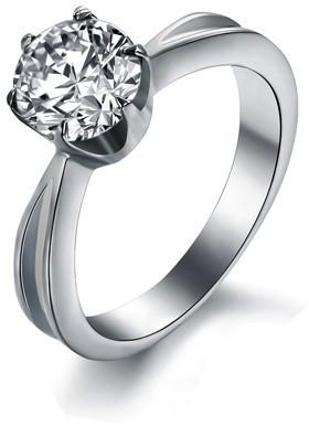 Troli Ocelový prsten s krystalem KRS-174 55 mm