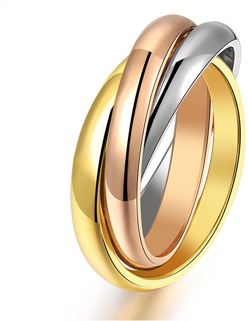 Troli Ocelový tricolor prsten KRS-247 49 mm