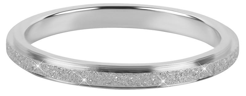 Troli Ocelový třpytivý prsten 50 mm
