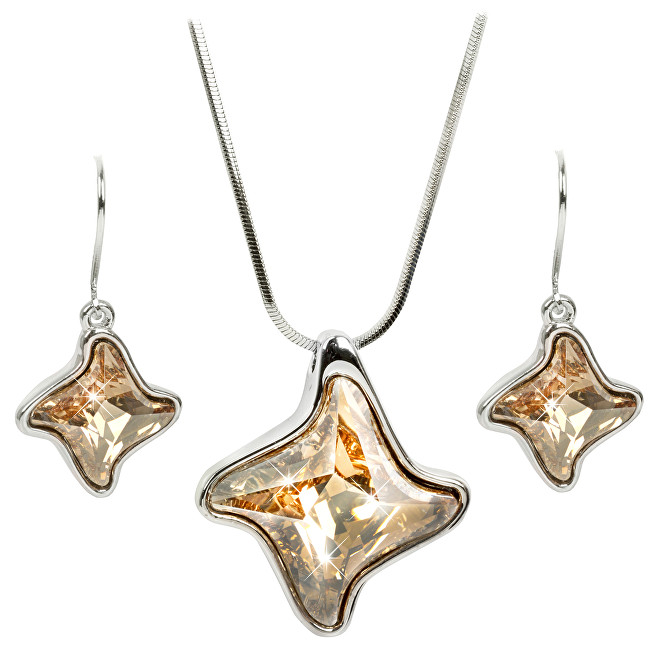 Troli sada náhrdelníka a náušníc Twister Golden Shadow E448510KLRH Golden  Shadow + C448517SNRH Golden Shadow 87063d3a58a