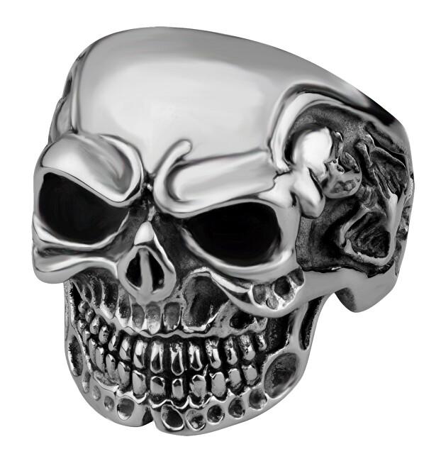 Troli Stílusos férfi gyűrű koponya alakú dísszel 67 mm