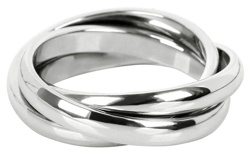 Troli Trojitý ocelový prsten KRS-247 57 mm