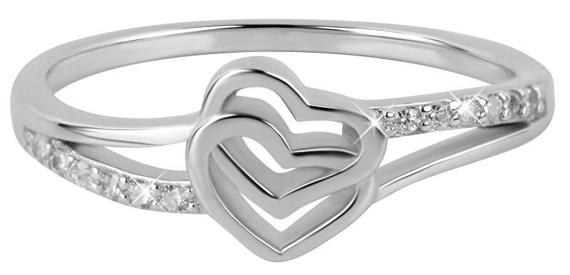 Troli Zamilovaný prsten se srdíčky 52 mm
