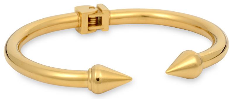 Troli zlatý fashion náramok z ocele Gold KBS-107