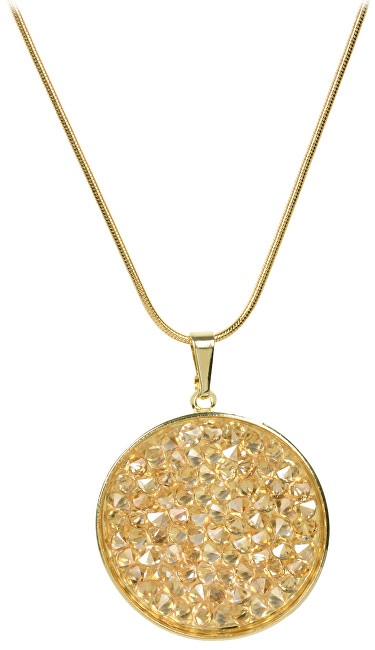 Troli Zlatý náhrdelník Rocks Golden Shadow