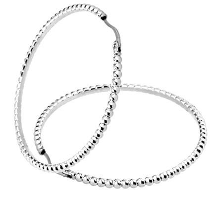 Tribal Ocelové náušnice kruhy ERM39