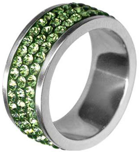 Tribal Prsteň RSSW03-PERIDOT 58 mm