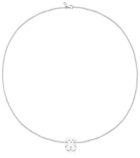 Tous Strieborný náhrdelník s medvedíkom 015904510 (retiazka, prívesok)