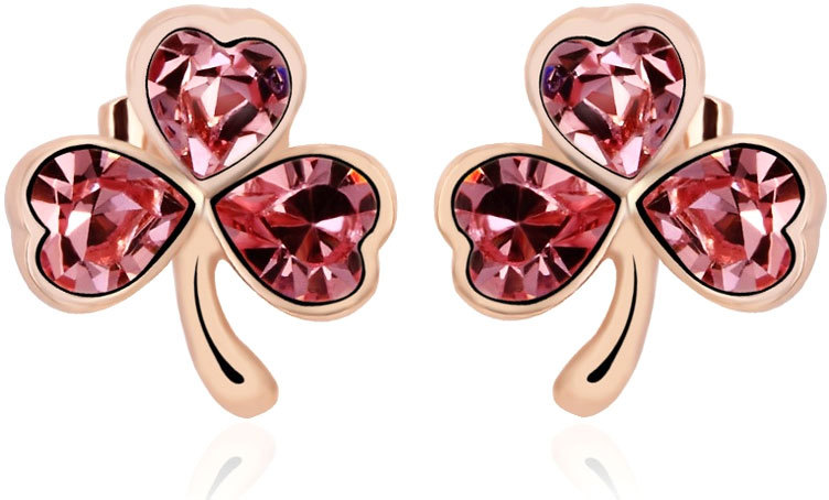 Vicca® Náušnice Lucky Gold Rose OI_440211_rose