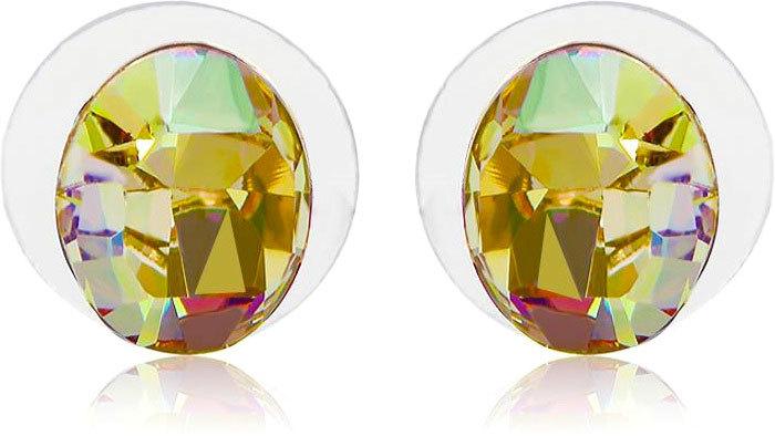Vicca® Náušnice Oval Champagne OI_405038_cham