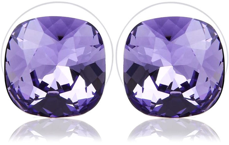 Vicca® Náušnice Small Square Violet OI_405052_violet