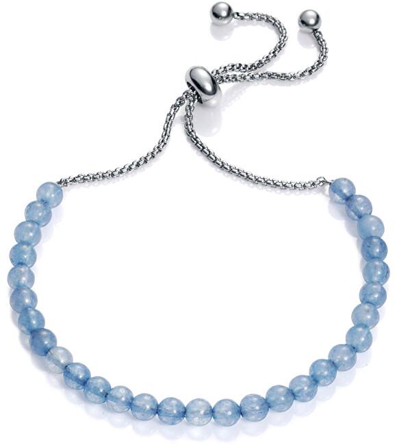 Viceroy Brațară cu margele de agate albastre 75120P01013
