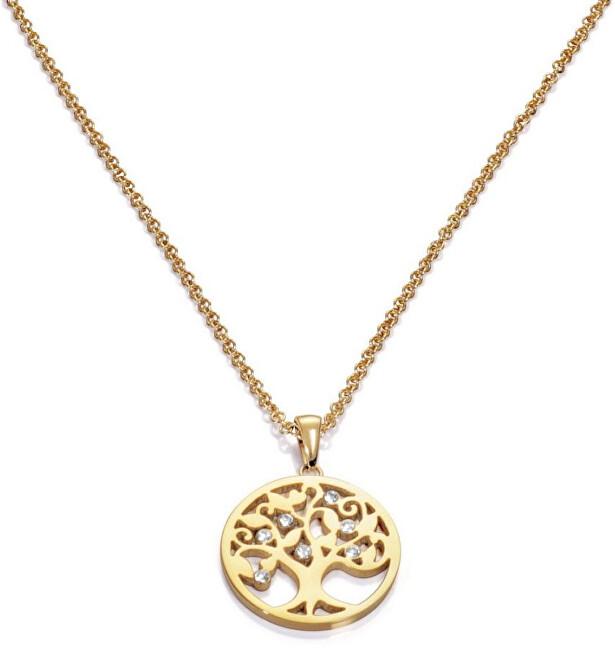 Viceroy Colier placat cu aur cu copacul vieții Popular 80007C01012