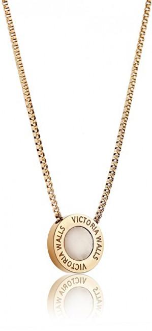 Victoria Walls Pozlacený ocelový náhrdelník VN1053G