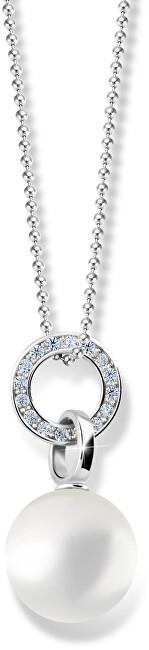 Zodiax Přívěsek z bílého zlata s přírodní perlou DLP 3123 W
