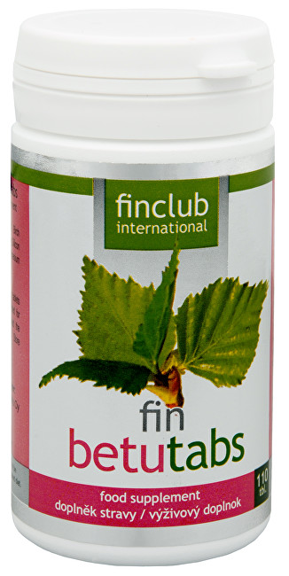 Zobrazit detail výrobku Finclub Fin Betutabs 110 tbl.