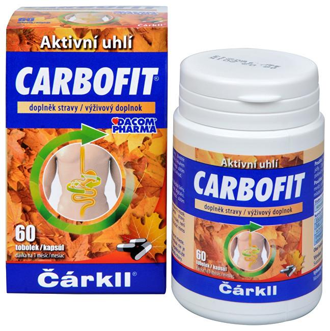 Carbofit - aktivované rostlinné uhlí 60 tob.