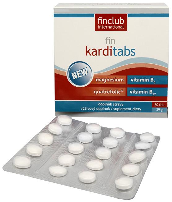 Zobrazit detail výrobku Fin Karditabs (60 tbl)