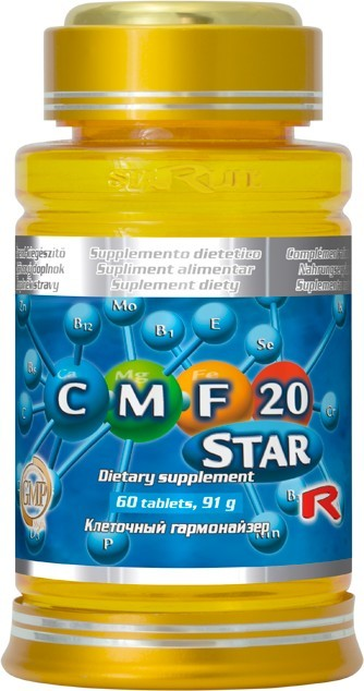 Zobrazit detail výrobku STARLIFE CMF 20 STAR 60 tbl.