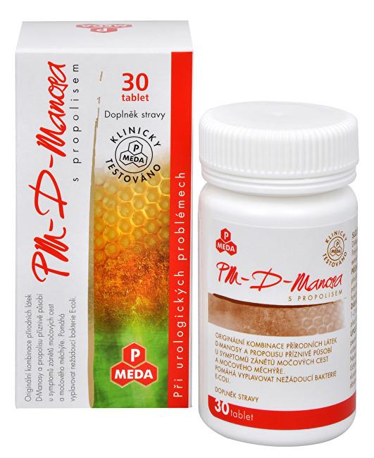 Zobrazit detail výrobku Purus Meda PM D-Manosa s propolisem 30 tbl.