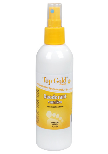 Top Gold Deodorant s arnikou + Tea Tree Oil 150 g