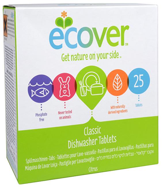 Zobrazit detail výrobku Ecover Tablety do myčky na nádobí 25 tbl.