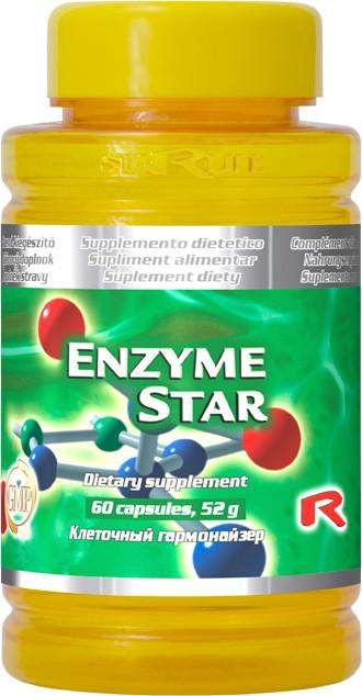 STARLIFE ENZYME STAR 60 kapslí