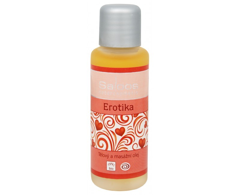 Zobrazit detail výrobku Saloos Bio tělový a masážní olej - Erotika 50 ml