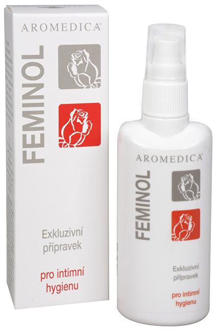 Feminol - mycí olej pro intimní hygienu s růžovým olejem 100 ml