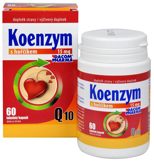 Zobrazit detail výrobku Dacom Pharma Koenzym Q10 s hořčíkem 60 tob.