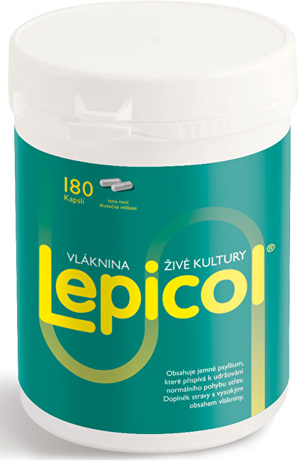 PROBIOTICS INTERNATIONAL LTD. Lepicol 180 kapslí