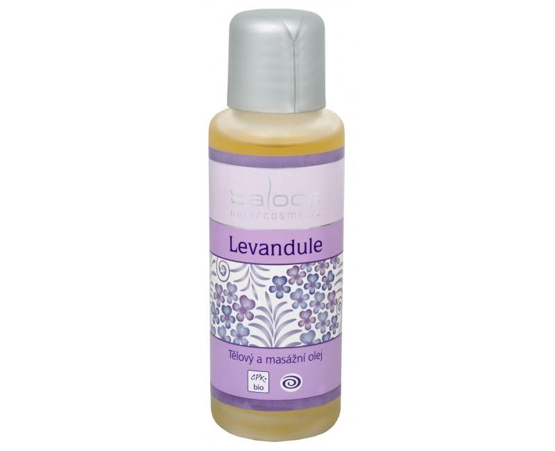 Zobrazit detail výrobku Saloos Bio tělový a masážní olej - Levandule 50 ml