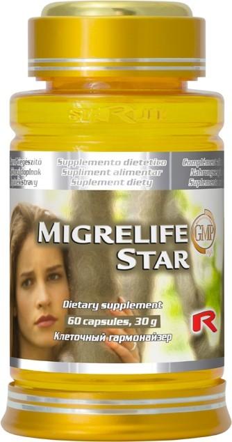Zobrazit detail výrobku STARLIFE MIGRELIFE STAR 60 kapslí