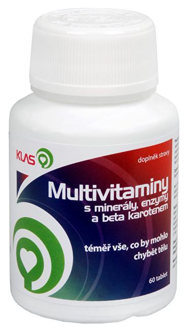 Klas Multivitamíny plus minerály a enzymy 60 tbl.