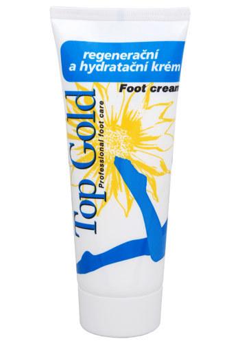 Chemek TopGold - regenerační hydratační krém na nohy 100 ml