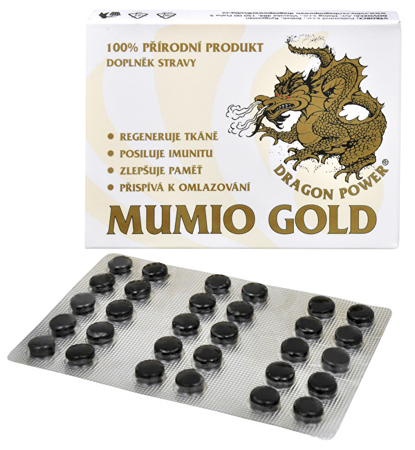Dragon Power - Mumio Gold 30 tbl.