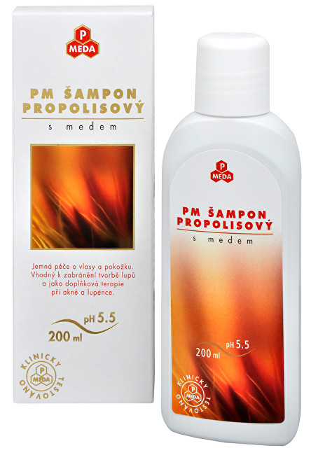Zobrazit detail výrobku Purus Meda PM Šampon propolisový s medem 200 ml