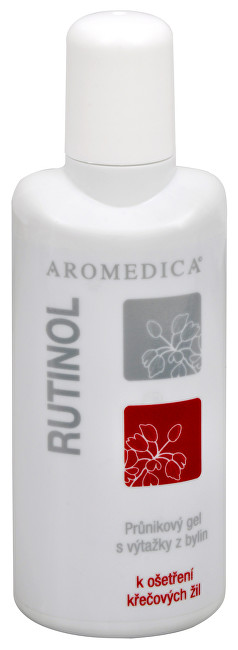 Rutinol - průnikový gel na křečové žíly a hematomy 100 ml