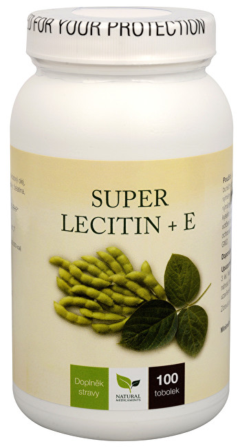 Natural Medicaments Super Lecitín + E 100 tob.