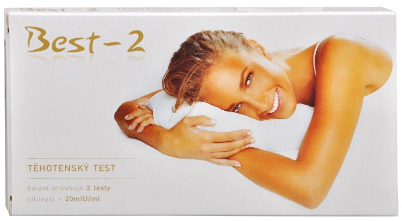 Zobrazit detail výrobku IVT IMUNO Těhotenský test Best-2 2 ks