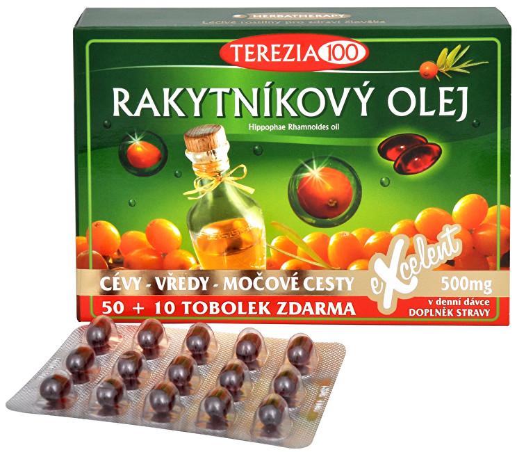 Zobrazit detail výrobku Terezia Company 100% Rakytníkový olej 50 tob. + 10 tob. ZDARMA