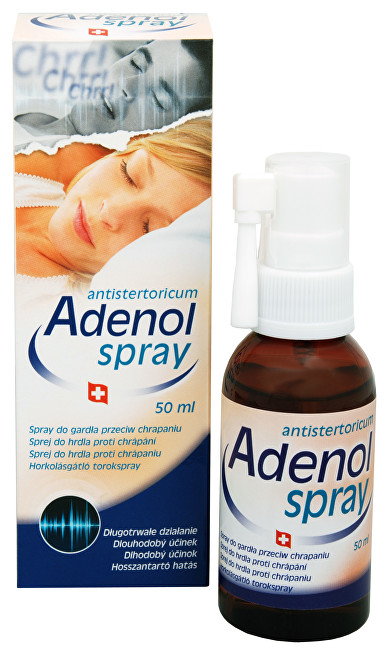 Herb Pharma Adenol spray do hrdla proti chrápání 50 ml