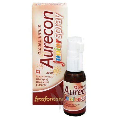 Aurecon ušní spray Junior 30 ml
