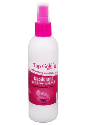 Chemek TopGold - deodorant s měsíčkem, šalvějí a Tea Tree Oil 150 g