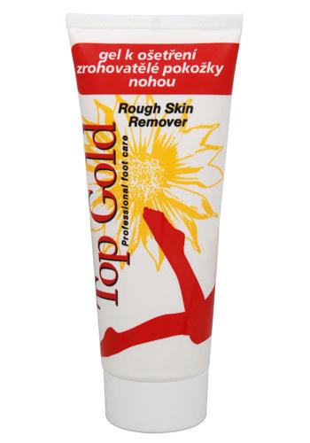 Chemek TopGold - gél na ošetrenie zrohovatenej pokožky nôh 100 ml