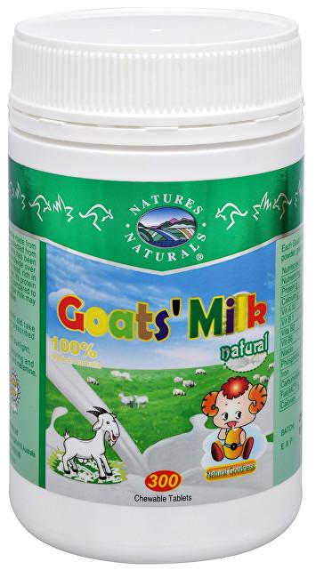 Goat´s Milk (kozí mléko v tabletách) 300 tbl.