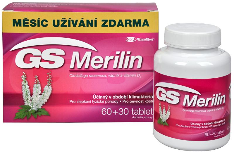 Zobrazit detail výrobku GreenSwan GS Merilin 60 tbl. + 30 tbl. ZDARMA