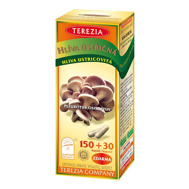 Zobrazit detail výrobku Terezia Company Hlíva ústřičná 150 kapslí + 30 kapslí ZDARMA