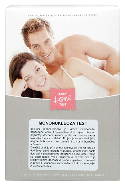 MiraTes Mononukleóza Test 1 ks