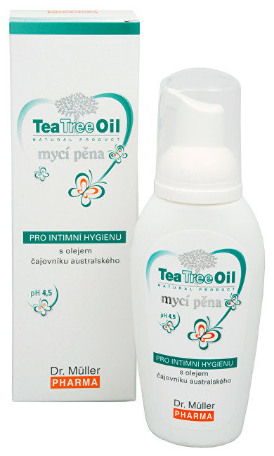 Zobrazit detail výrobku Dr. Muller Tea Tree Oil intimní mycí pěna 100 ml
